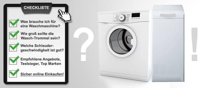 Waschmaschinen Kaufberatung