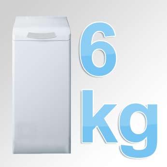 6 kg Toplader Waschmaschine