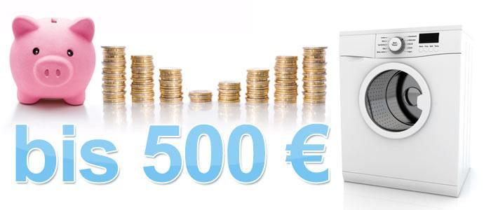 Frontlader Waschmaschinen bis 500 €