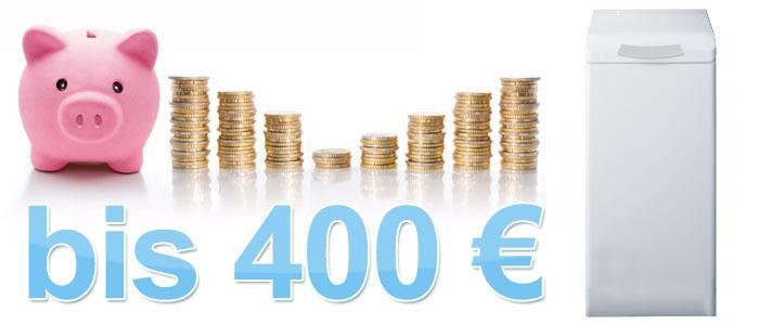 Toplader Waschmaschinen bis 400 €