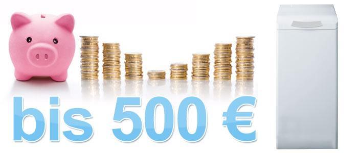 Toplader Waschmaschinen bis 500 €